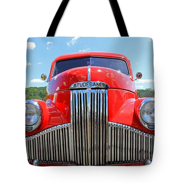 Red Studebaker Tote Bag