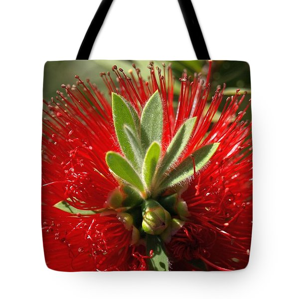 Red Surprise Tote Bag