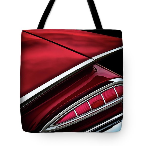 Red Tail Impala Vintage '59 Tote Bag by Douglas Pittman