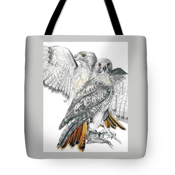 Red-tailed Hawk Tote Bag