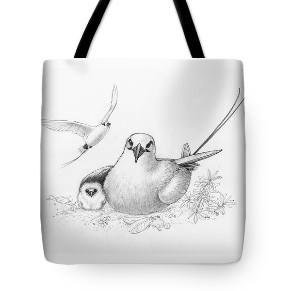 Red-tailed Tropicbirds Tote Bag
