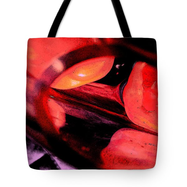 Red Tomatoe Two Tote Bag