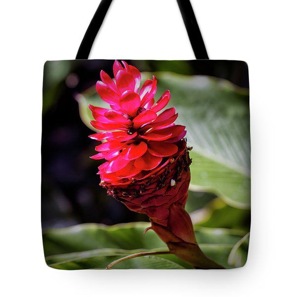 Red Torch Tote Bag