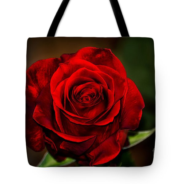 Tote Bag featuring the photograph Red Velvet by Brenda Bostic