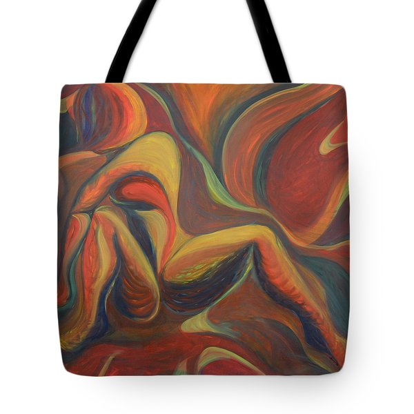 Red Venture Unknown Tote Bag