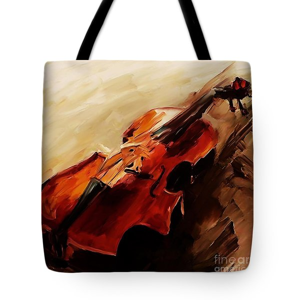 Red Violin  Tote Bag