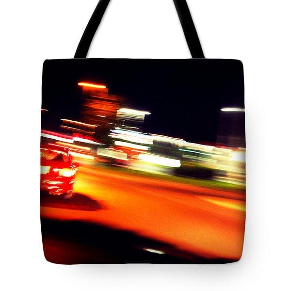Red Vision Tote Bag