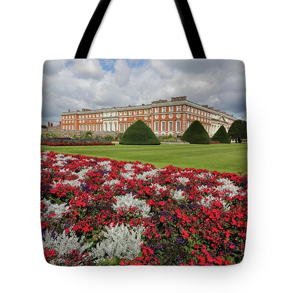 Red White And Blue At Hampton Court Tote Bag