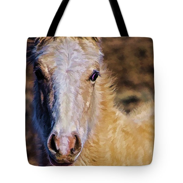 Red Willow Pony Tote Bag