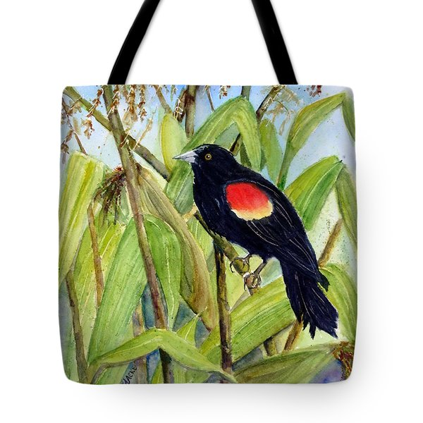 Red-winged Sentry Tote Bag