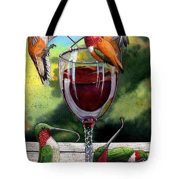 Red Winos Tote Bag