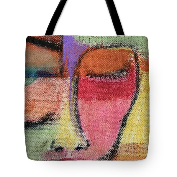 Red Wisdom Tote Bag