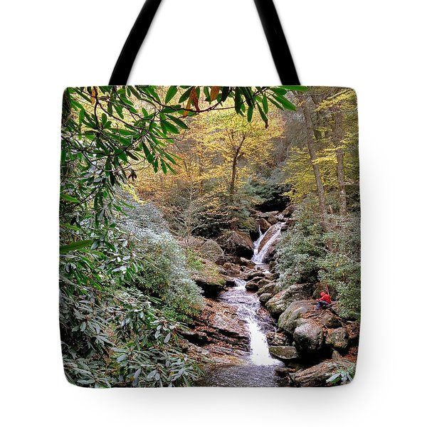 Red Wizard's Lament Tote Bag