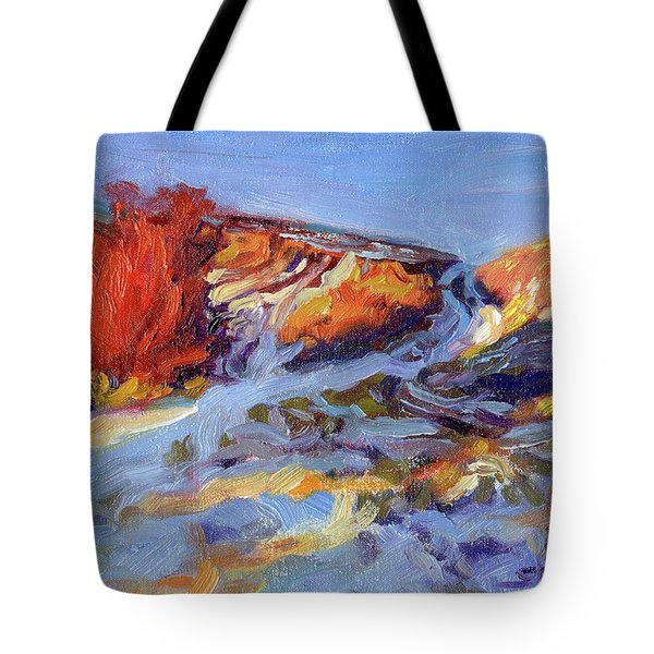 Redbush Tote Bag