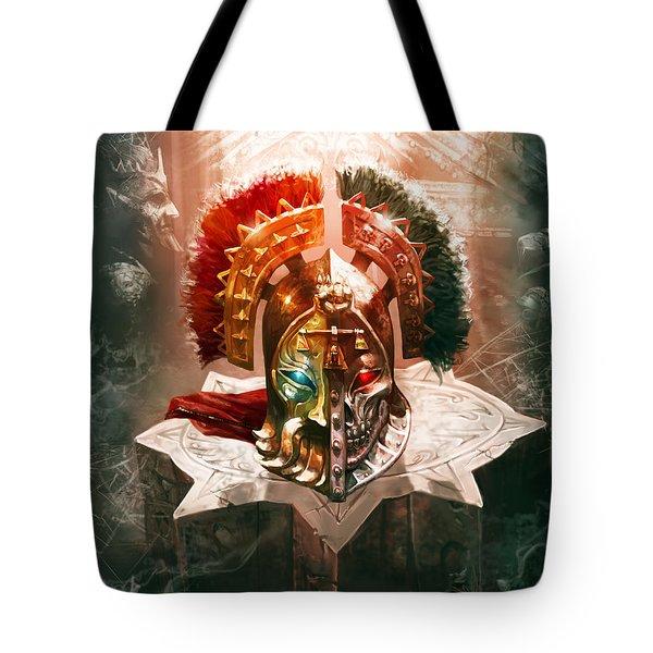 Redeemer's Helm Tote Bag