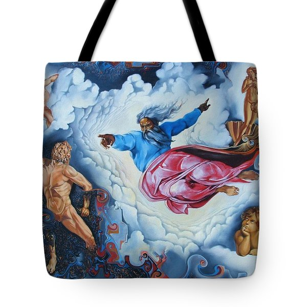 Redemption Tote Bag by Darwin Leon