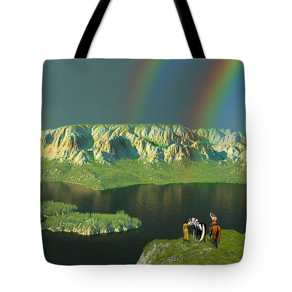 Redemption For An Angry Sky Tote Bag