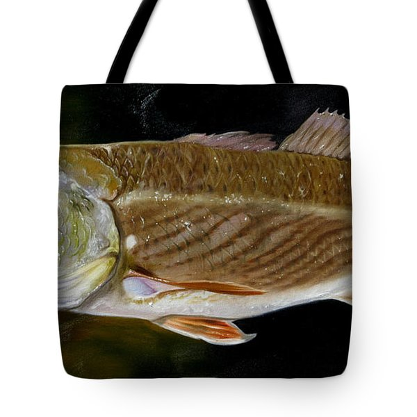 Tote Bag featuring the painting Redfish Study  by Phyllis Beiser