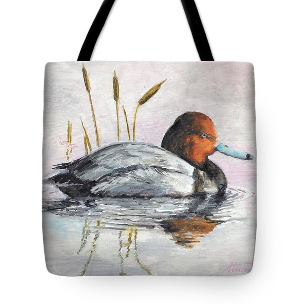 Redhead Tote Bag by Stan Tenney