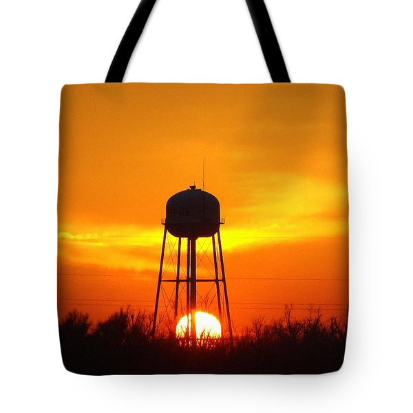 Redneck Water Heater For Whole Town Tote Bag by J R Seymour