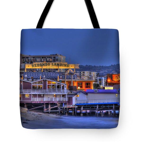 Redondo Landing Tote Bag
