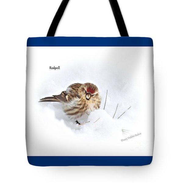 Redpoll Tote Bag