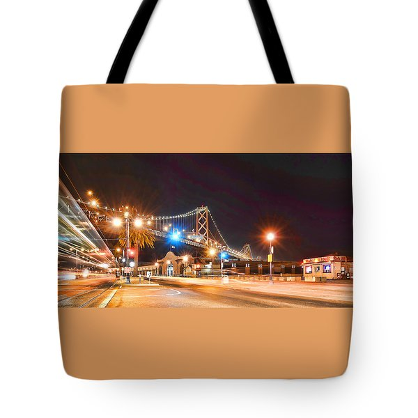 Tote Bag featuring the photograph Red's Java House by Steve Siri