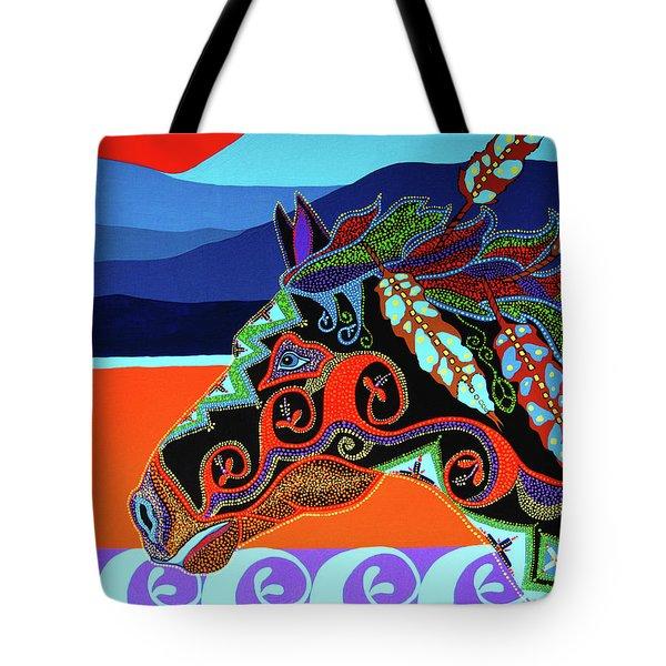Redsky 01 Tote Bag