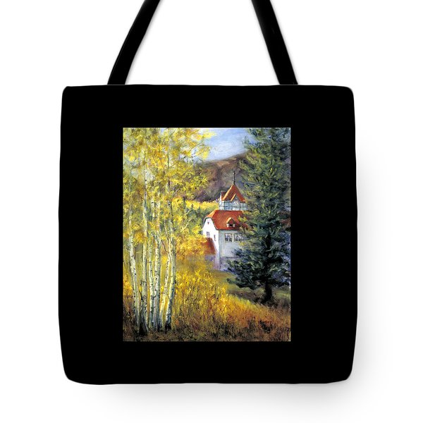 Redstone Inn Tote Bag