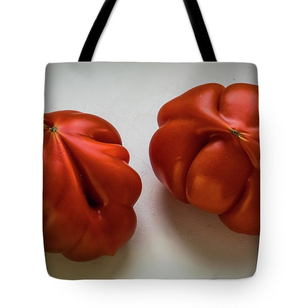 Tote Bag featuring the photograph Redtomatoes by Vladimir Kholostykh