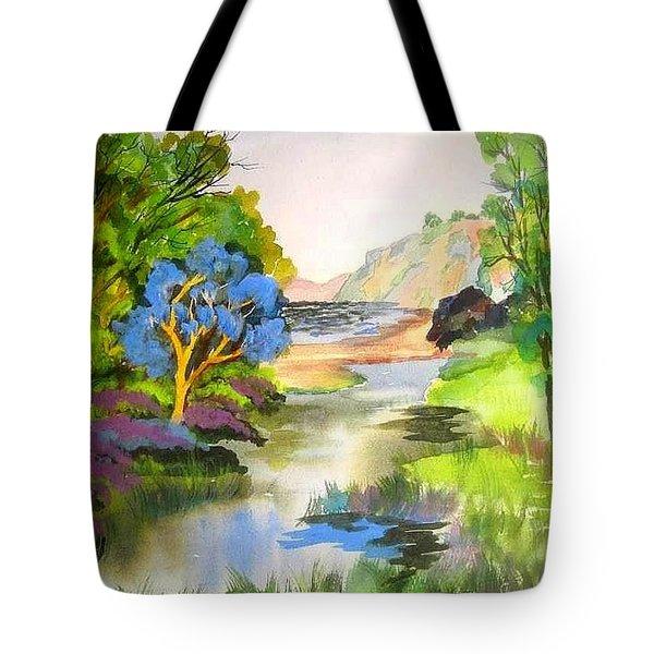 Redwood Creek  Tote Bag