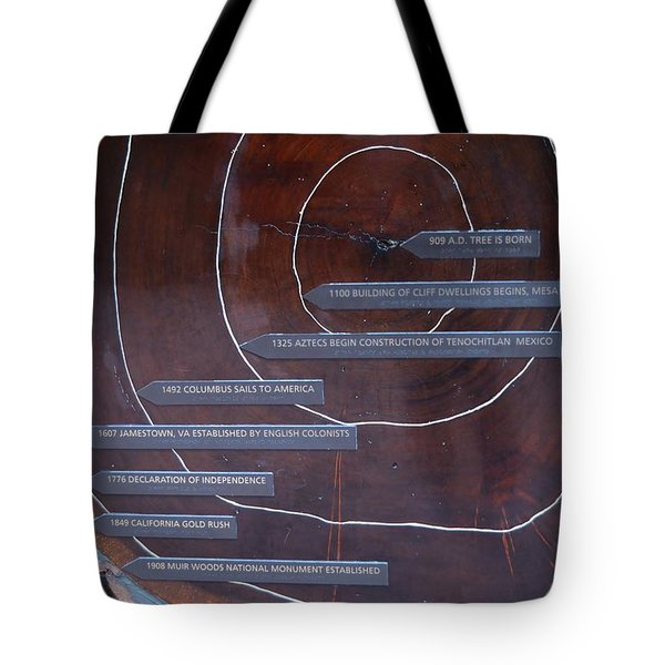 Redwood History Tote Bag