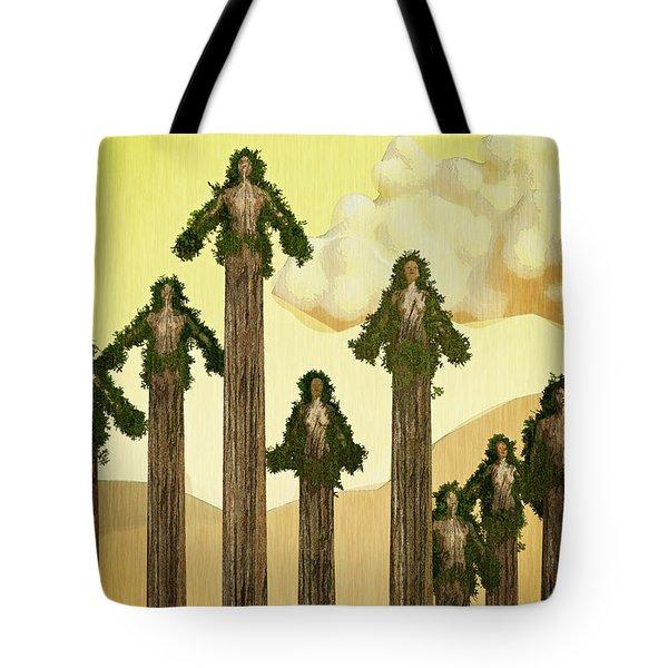 Redwood People Tote Bag