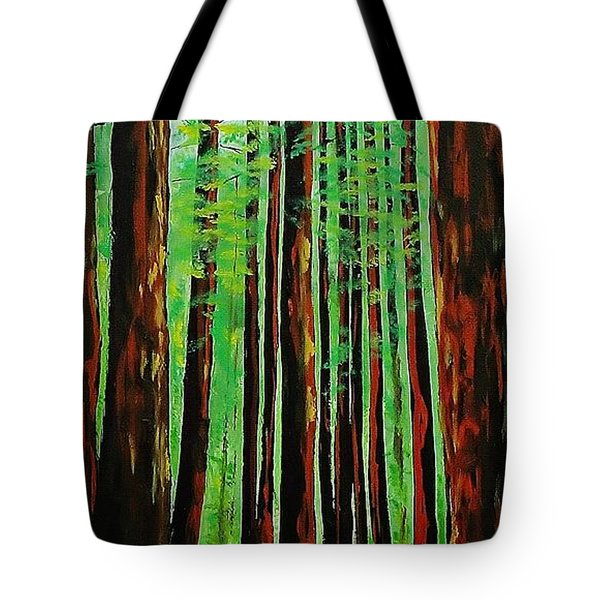 Redwoods Majestic 2 Tote Bag