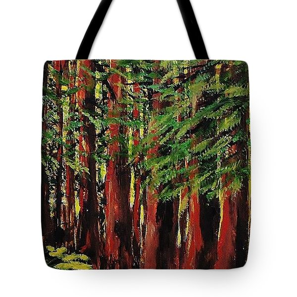 Redwoods Majestic 1 Tote Bag