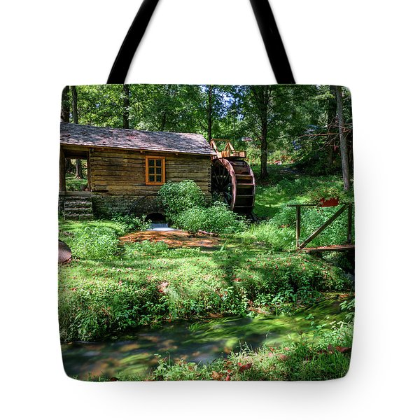 Reed's Mill Tote Bag by John Gilbert