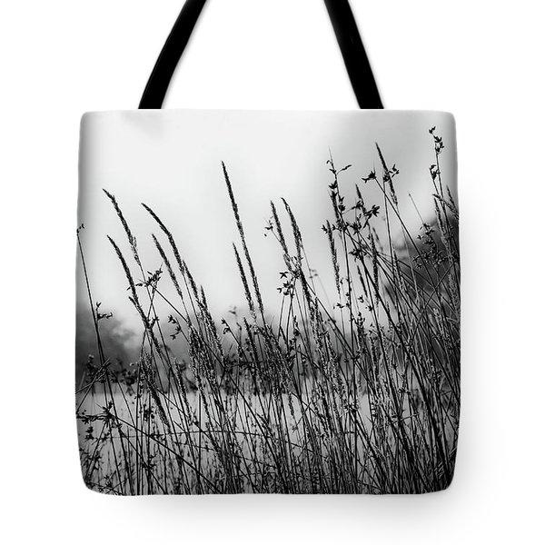 Reeds Of Black Tote Bag