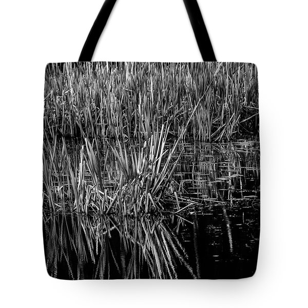 Reeds Reflection  Tote Bag
