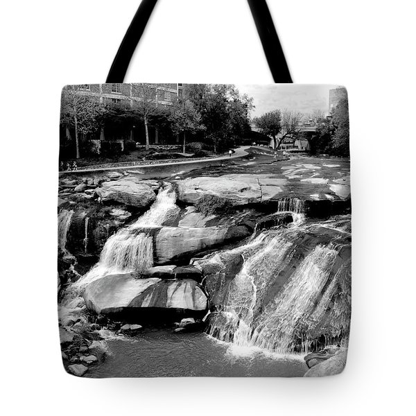 Tote Bag featuring the photograph Reedy River by Corinne Rhode