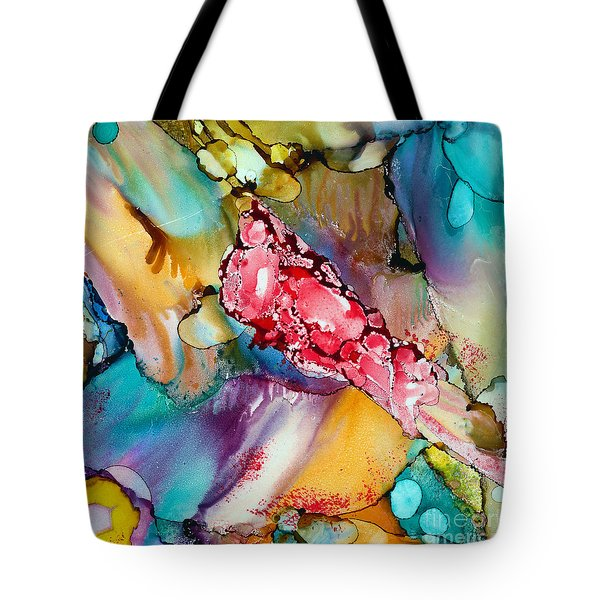 Reef Tote Bag by Alene Sirott-Cope