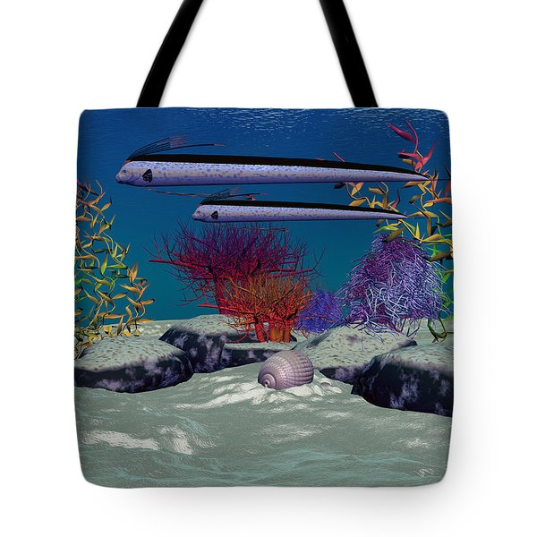 Reef Tote Bag by Corey Ford