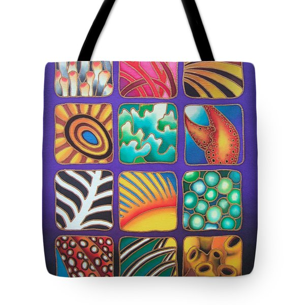 Reef Designs Ix Tote Bag