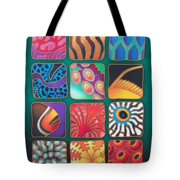 Reef Designs Viii Tote Bag