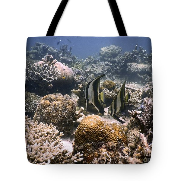 Tote Bag featuring the photograph Reef by Gary Bridger