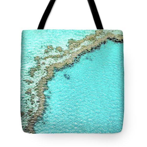Reef Textures Tote Bag