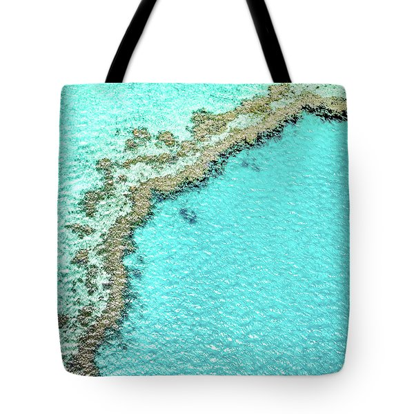 Tote Bag featuring the photograph Reef Textures by Az Jackson