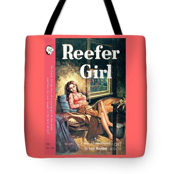 Reefer Gilr Tote Bag