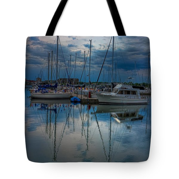 Reefpoint Marina Square Format Tote Bag