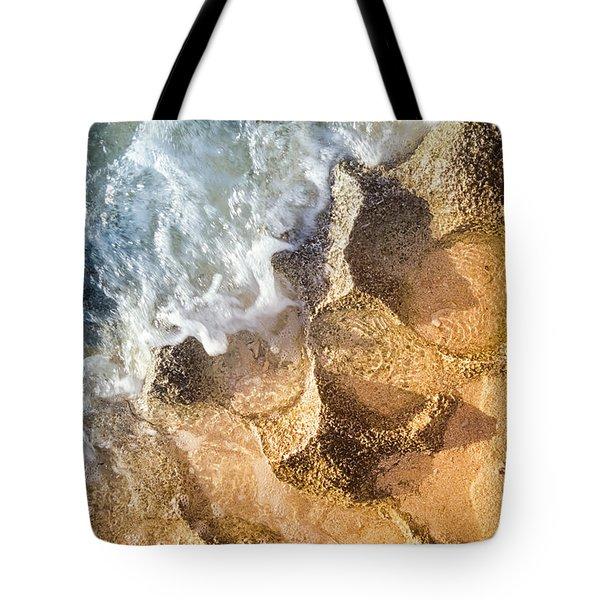 Reefy Textures Tote Bag