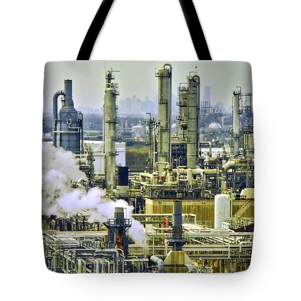 Refineries In Houston Texas Tote Bag